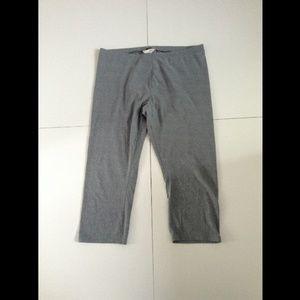 Lauren Conrad grey cropped leggings